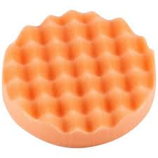 150mm Velcro Orange Firm Waffle Thin   Pad